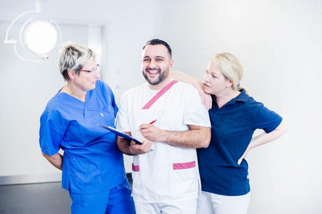 Mitarbeiterportraits in der Klinik Lilienthal - Foto: Fotograferei