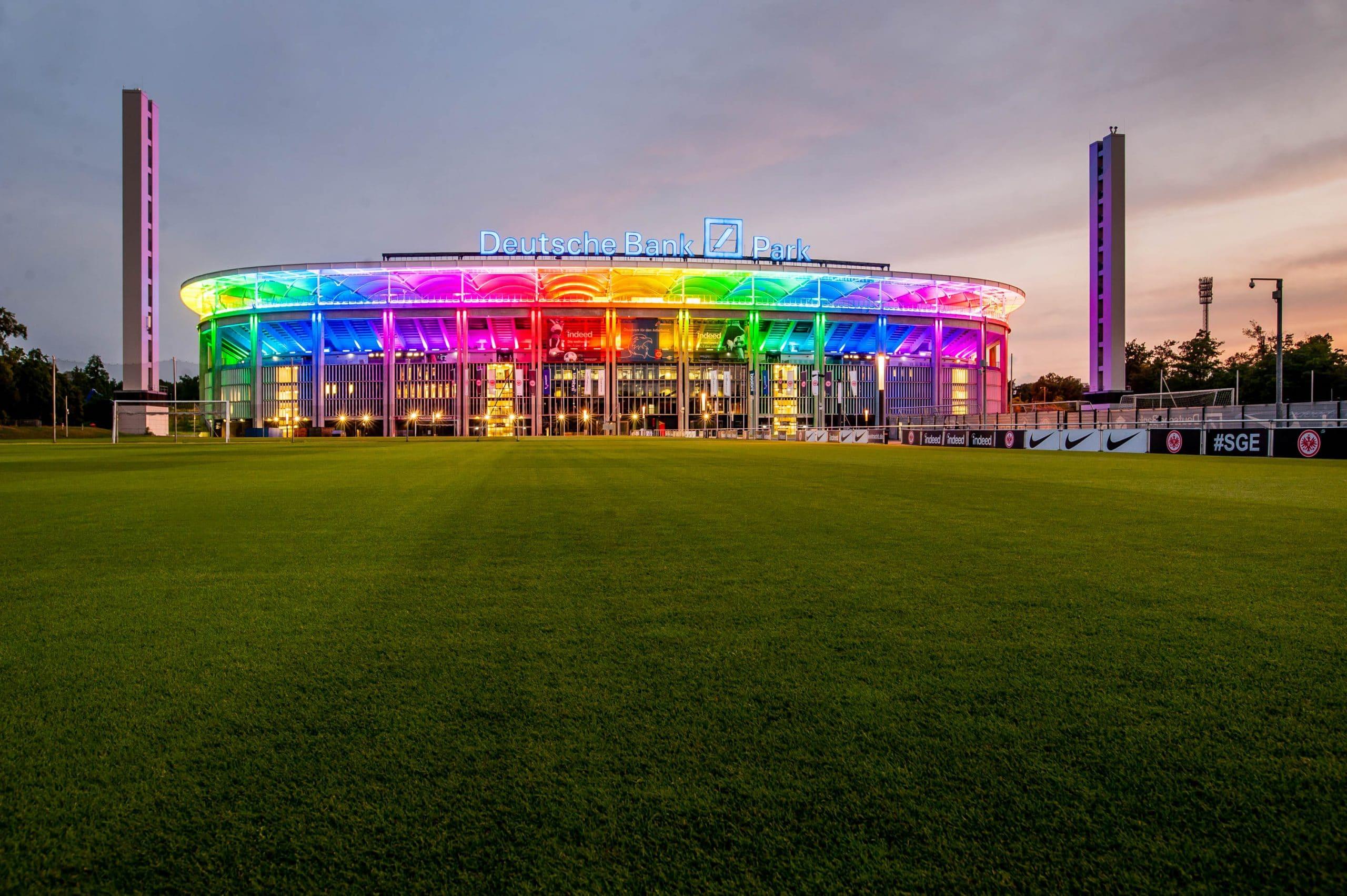 Waldstadion Frankfurt FOTO: FOTOGRAFEREI